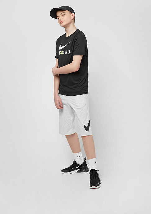 NIKE Junior NSW Short Jersey birch heather/obsidian