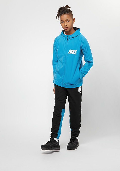 NIKE Track Suit equator blue/black/white