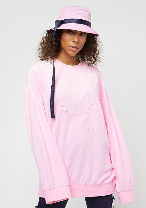 Puma Fenty By Rihanna Crew Neck pink lady