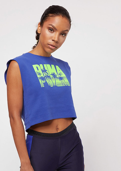 Puma Fenty By Rihanna Sleeveless Crop dazzling blue