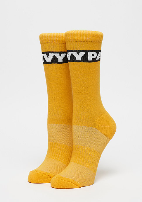 IVY PARK Logo Graphic Crew 2P old gold