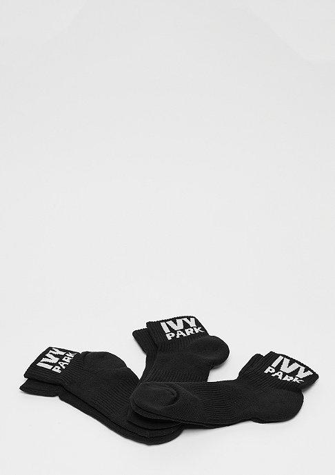 IVY PARK Logo Ankle 3P black