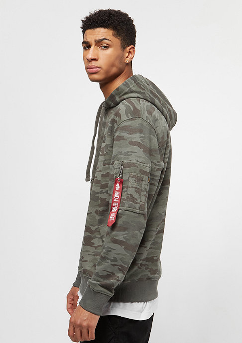 Alpha Industries X-Fit woodland camo