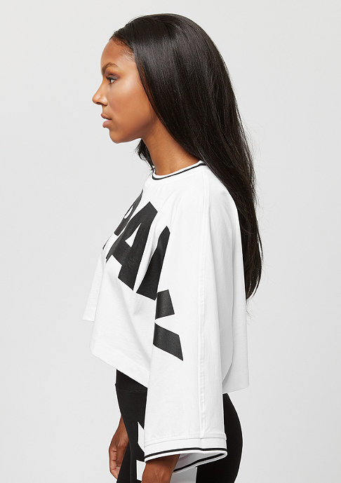 IVY PARK Cropped Oversized Logo white
