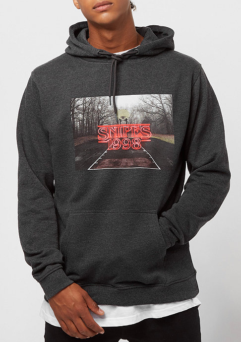 SNIPES Wood Logo charcoal