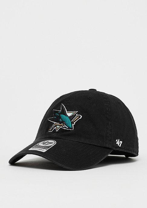 47 Brand NHL San Jose Sharks 47 CLEAN UP black