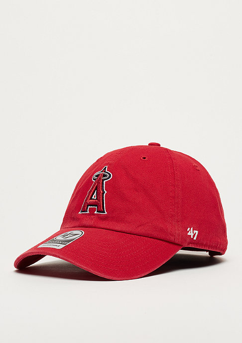 47 Brand MLB Anaheim Angels 47 CLEAN UP red