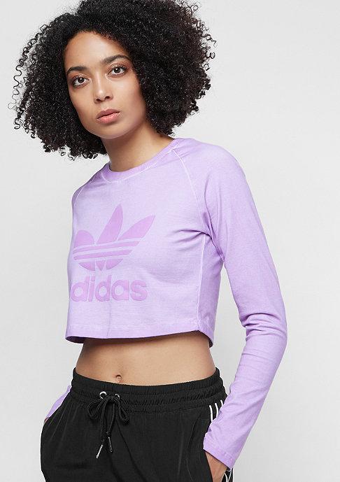 adidas The Dye Pack Crop LS crunch wash purple
