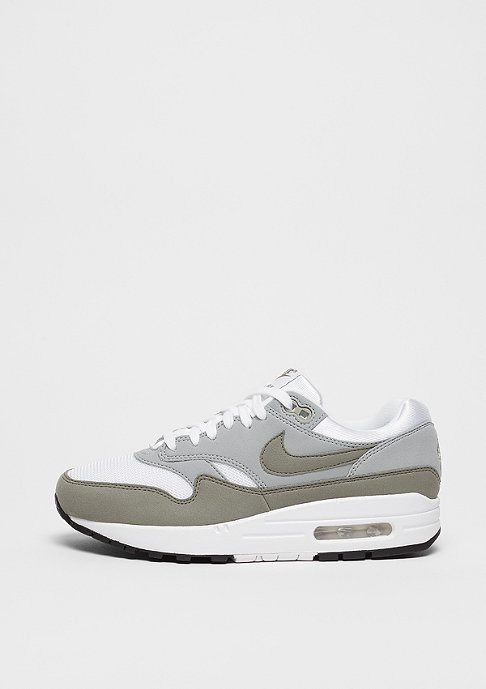 NIKE Wmns Air Max 1 white/dark stucco-light pumice-black