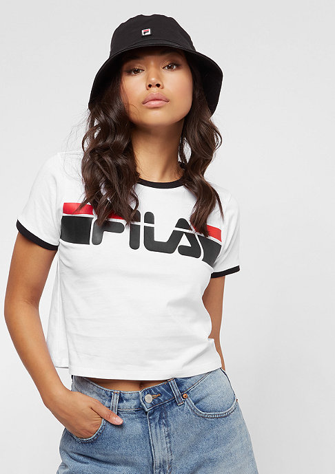 Fila Urban Line cropped Tee Ashley bright white / black