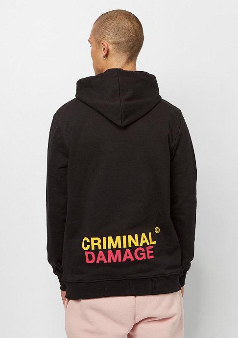 Criminal Damage Beast Hood black/multi