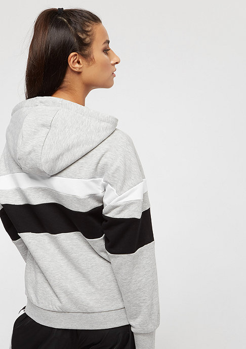Fila Urban Line Adina Hooded Sweat BriWhi-LightGreyMel-Black