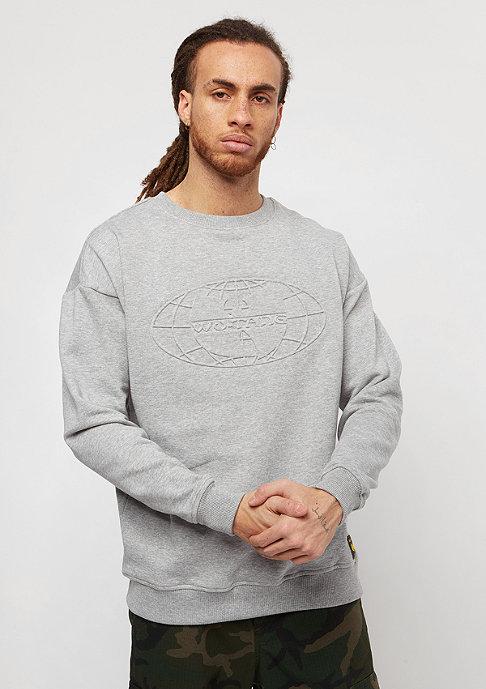 Wu-Wear Embossed heather grey