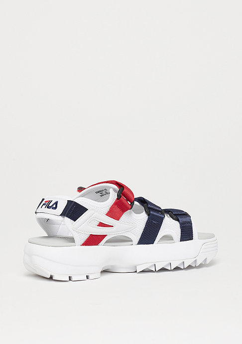 Fila Disruptor Sandal navy white red
