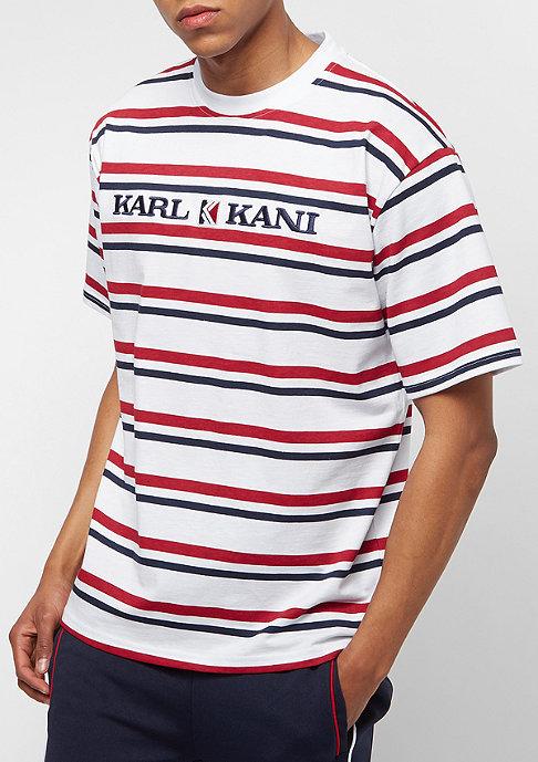 Karl Kani Stripes white/red/blue