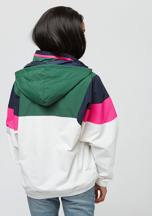 Karl Kani Block green/white/pink
