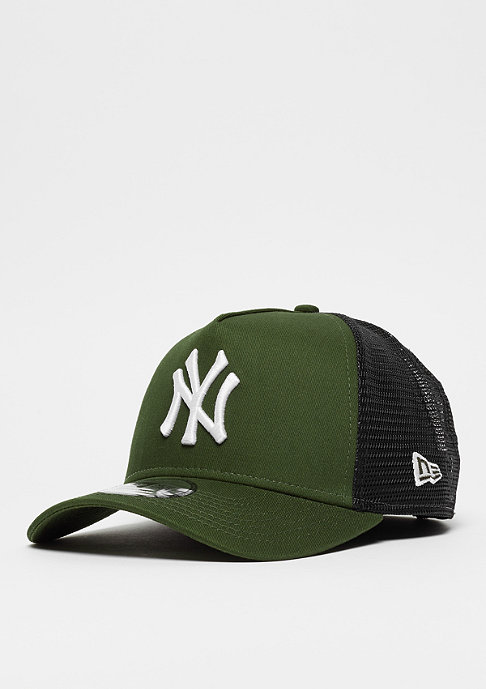 New Era 9Forty MLB New York Yankees Trucker white/rifle green