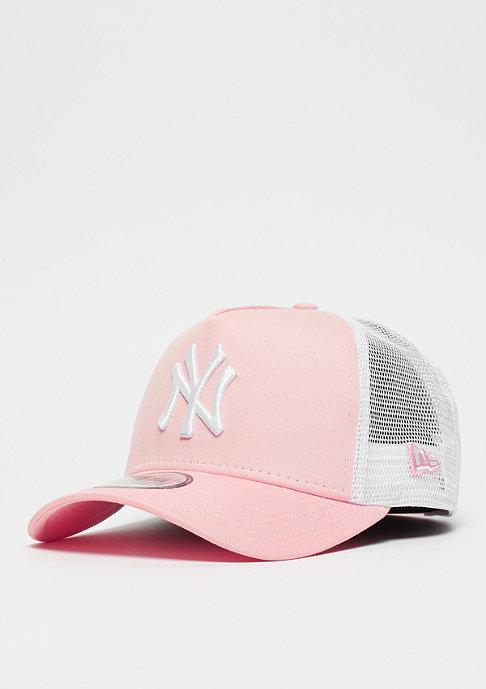 New Era 9Forty MLB New York Yankees Trucker white/pink