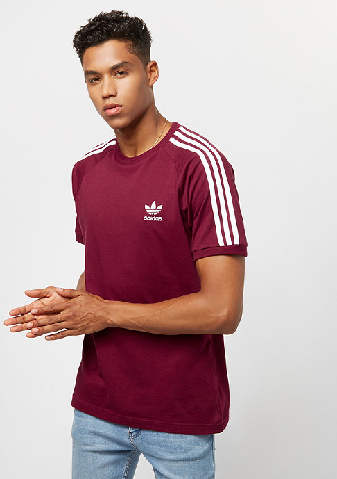 adidas 3-Stripes collegiate burgundy