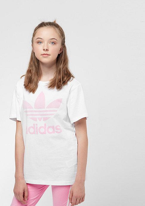 adidas J Trefoil white/light pink