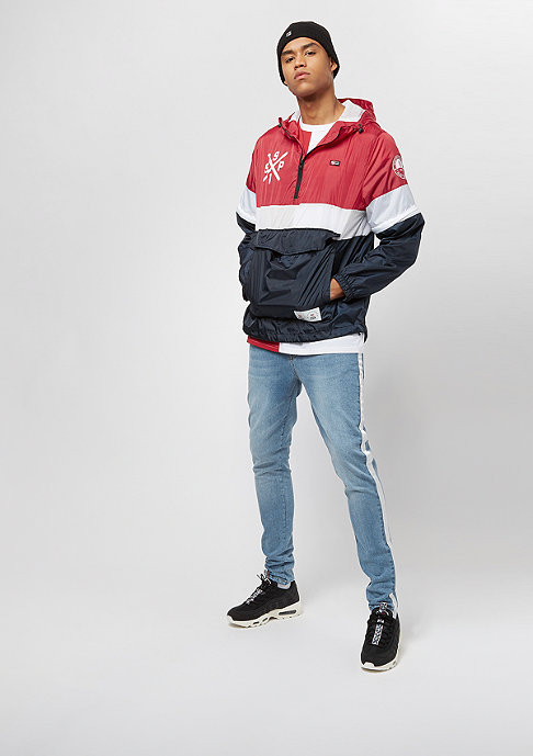 Southpole Zip-Off Anorak navy