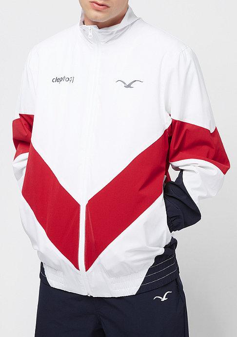Cleptomanicx Track Jacket white