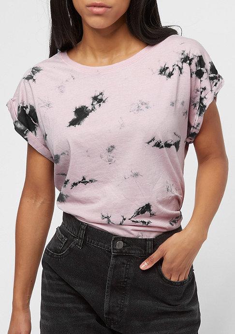Urban Classics Batic Extended Shoulder pink/grey