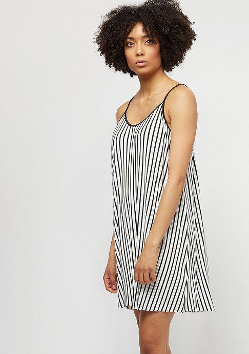 Urban Classics Striped Pleated Slip white/black