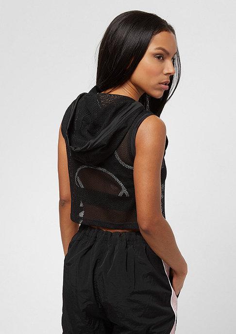 Urban Classics Ladies Mesh Cropped black