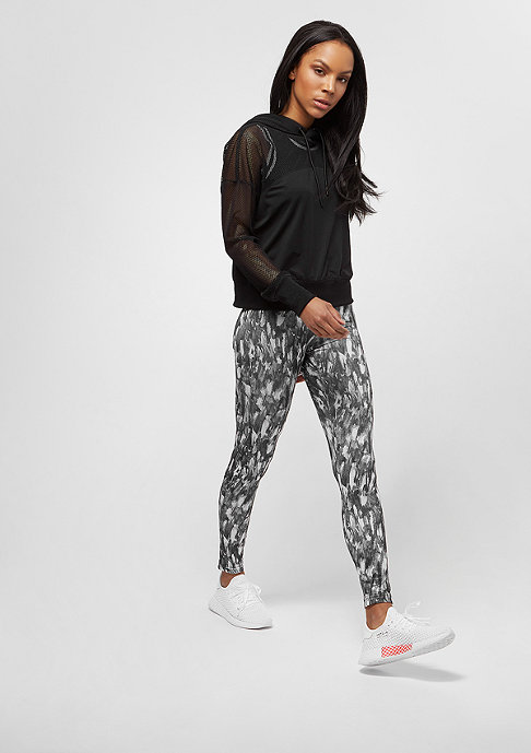 Urban Classics Ladies Mesh Hoody black