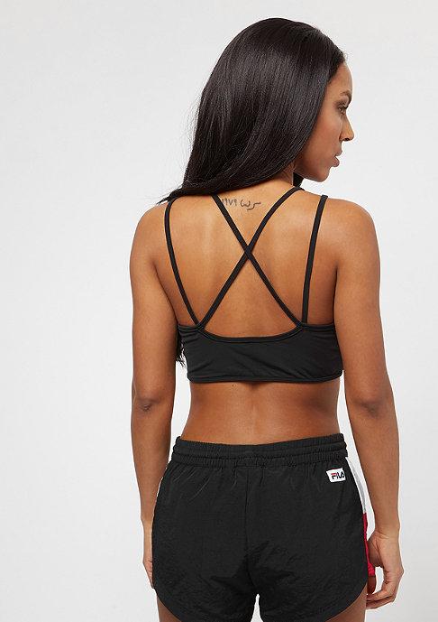 Urban Classics Ladies Tech Mesh Crossback Bra black