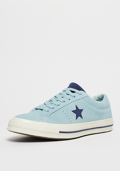 Converse One Star Ox Calzado ocean bliss/navy/egret