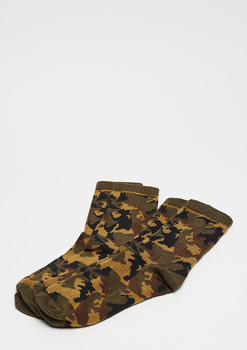 Urban Classics Camo Socks wood camo