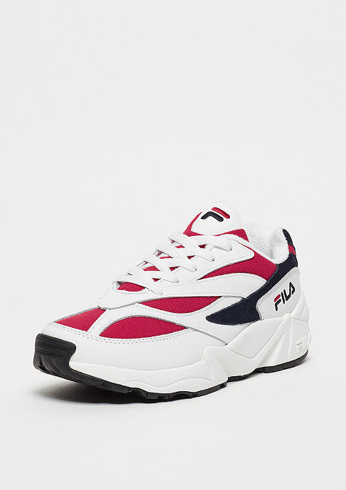 Fila V94M WMN Low White/FILA Navy/FILA Red