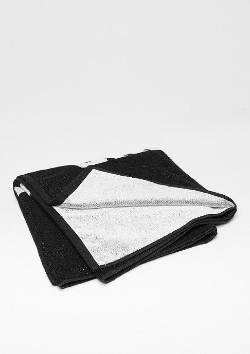 Urban Classics Logo Towel 2-Tone black/white