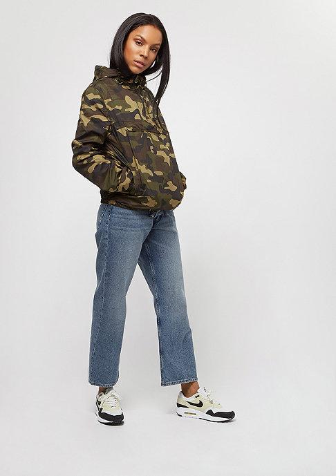 Urban Classics Camo Pullover woodcamo