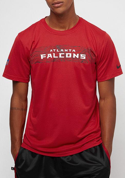 NIKE Atlanta Falcons LGD Onfield Seismic gym red