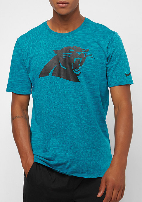 NIKE Carolina Panthers DFCT Slub tidal blue