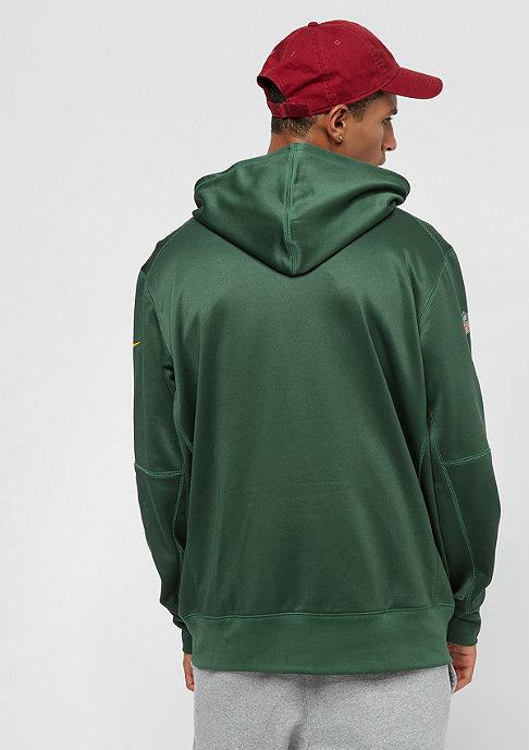 NIKE Green Bay Packers Thrma green/green/university gold