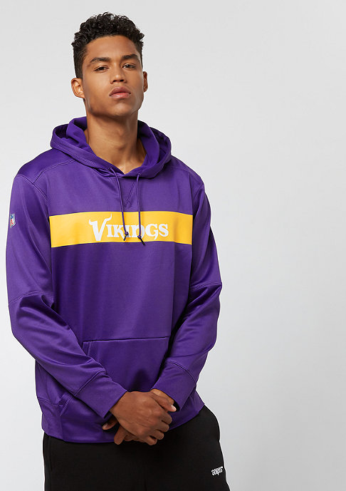 NIKE Minnesota Vikings Thrma court purple/court purple/gold