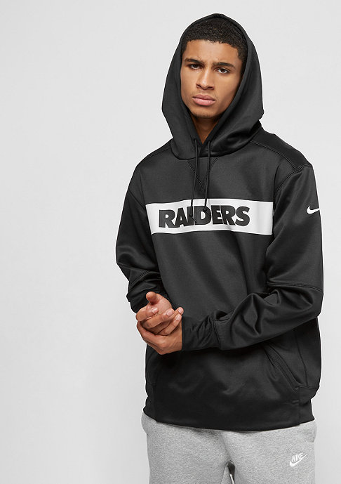 NIKE Oakland Raiders Thrma black/black/white