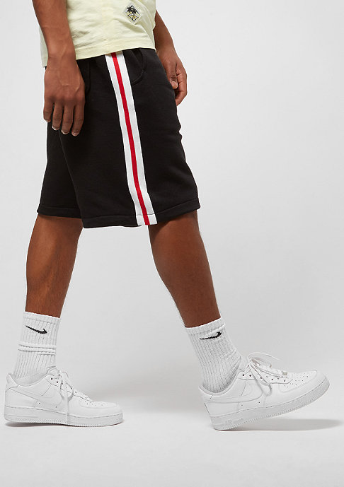Urban Classics Stripe black/white/firered
