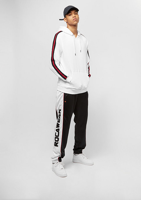 Urban Classics Stripe Shoulder white/black/firered