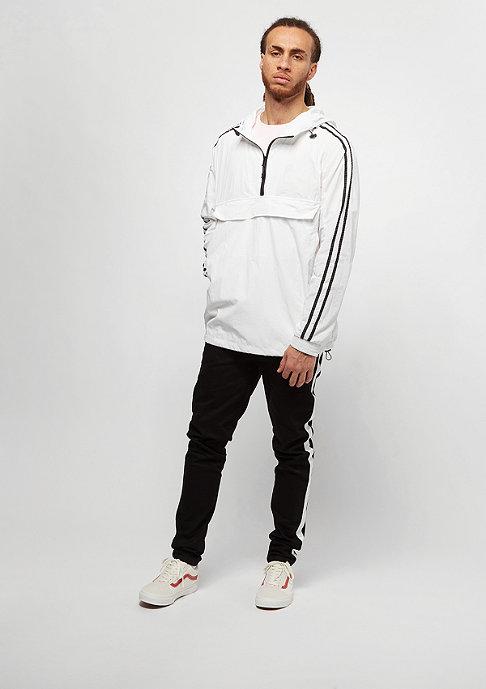 Urban Classics Crinkle Nylon white/black