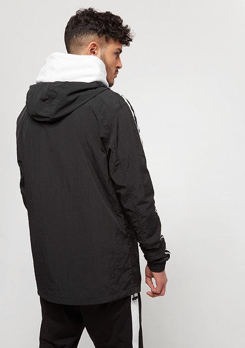 Urban Classics Crinkle Nylon black/white