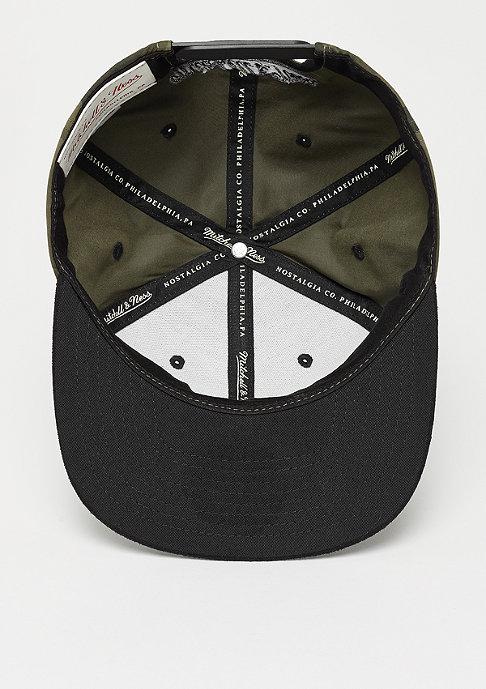 Mitchell & Ness Box Logo Black Suede black