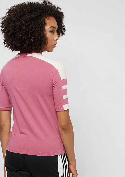 adidas T-Shirt trace maroon