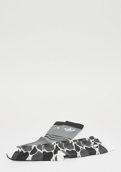 adidas Crew Socks TF 2P multicolor/white