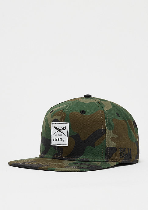 Iriedaily Daily Flag camouflage olive