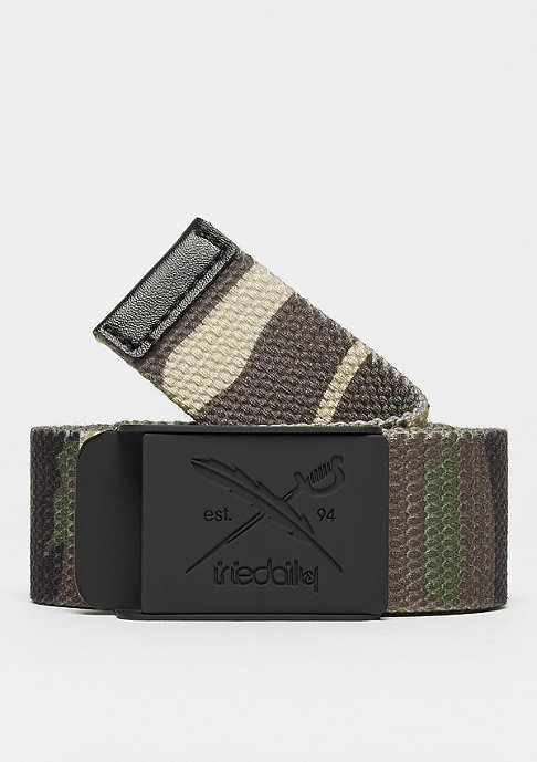 Iriedaily Flag Rubber camouflage olive